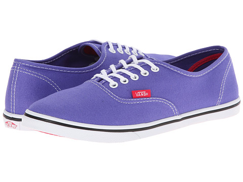 Vans - Authentic Lo Pro ((Pop) Purple Iris/Rose Red) Skate Shoes