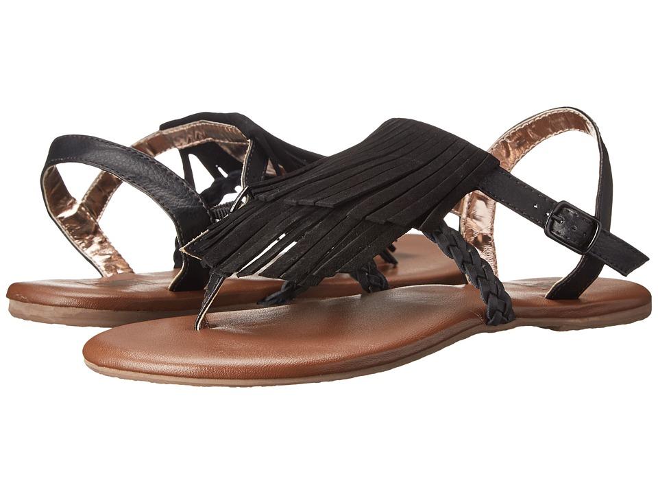 Vans - Kihana Fringe (Black) Women's Sandals