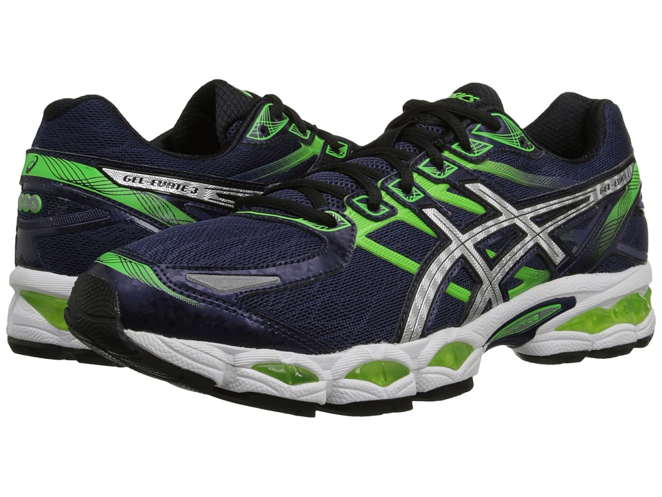ASICS Gel-Evate 3 (Midnight/Lightning/Flash Green) Men