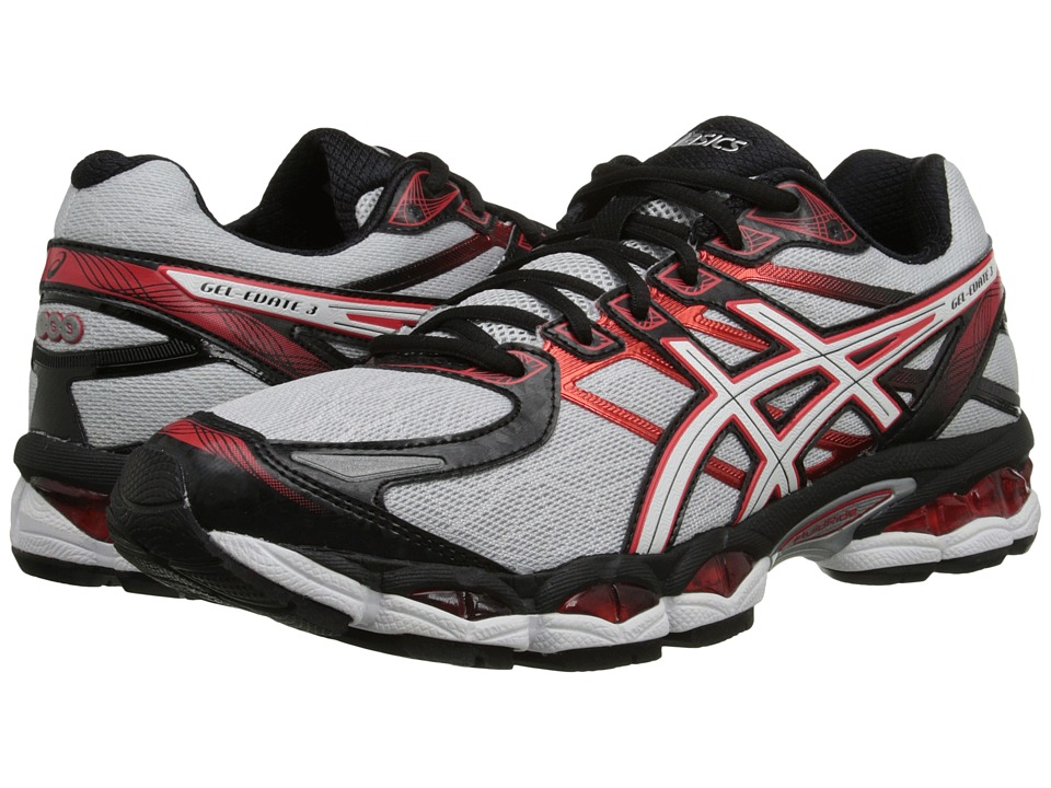 ASICS - Gel-Evate 3 (Lightning/White/Red) Men's Running Shoes