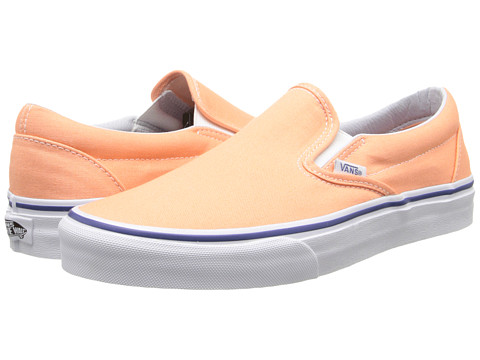 Vans - Classic Slip-On (Canteloupe/True White) Skate Shoes