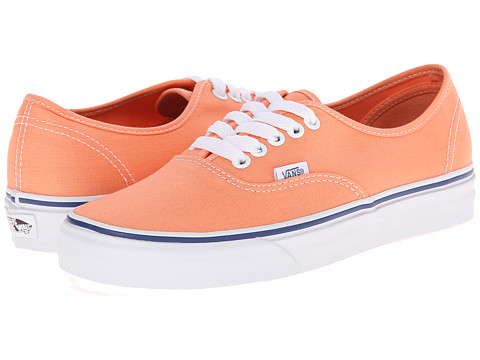 Vans - Authentic (Canteloupe/True White) Skate Shoes