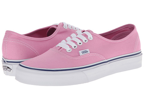 Vans - Authentic (Prism Pink/True White) Skate Shoes