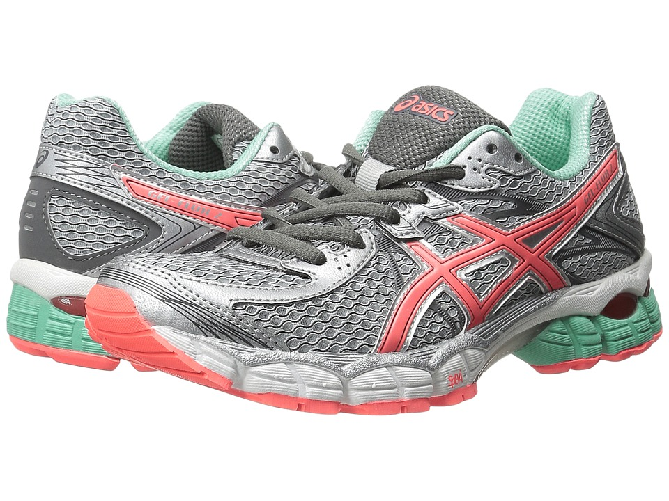 ASICS - GEL-Flux 2 (Lightning/Hot Coral/Beach Glass) Women