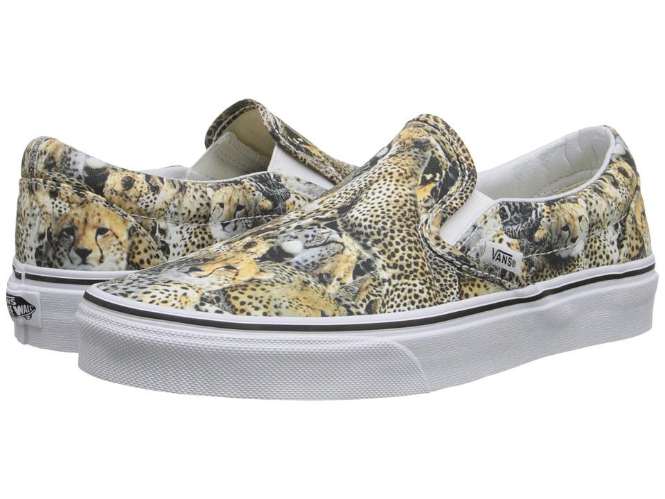 Vans - Classic Slip-On ((Kenya) Black/True White) Skate Shoes