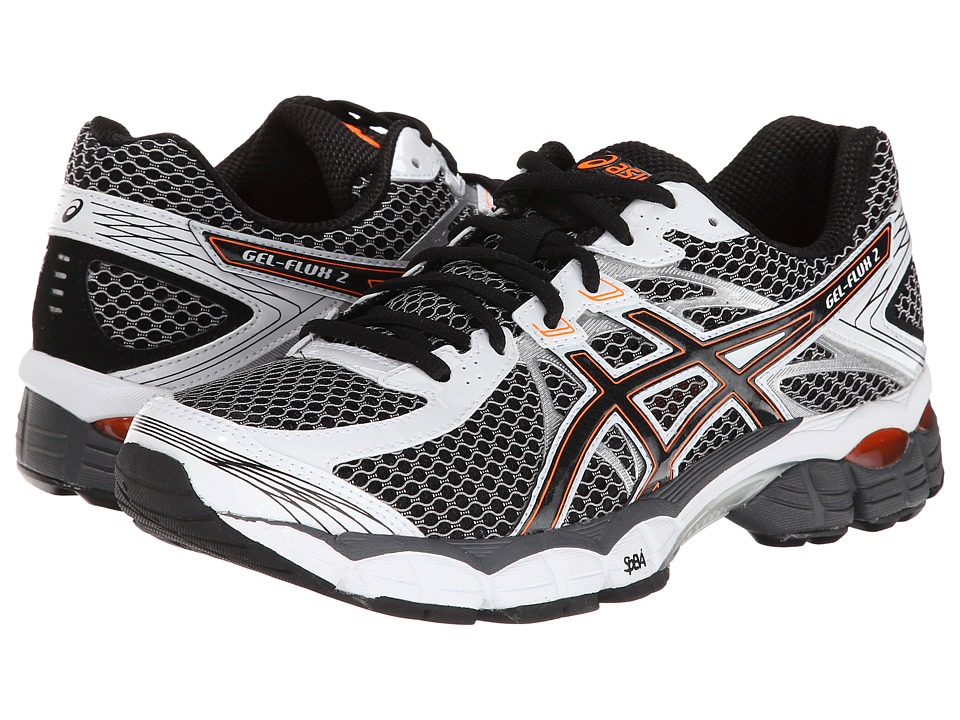 ASICS - GEL-Flux 2 (Onyx/Black/Flash Orange) Men