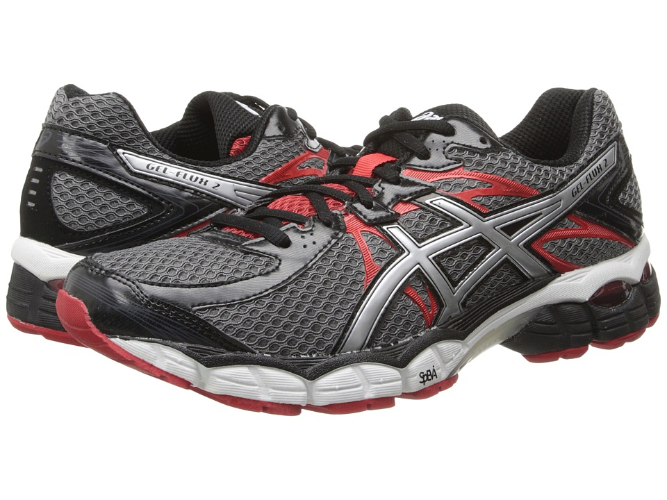 ASICS - GEL-Flux 2 (Carbon/Lightning/Red) Men