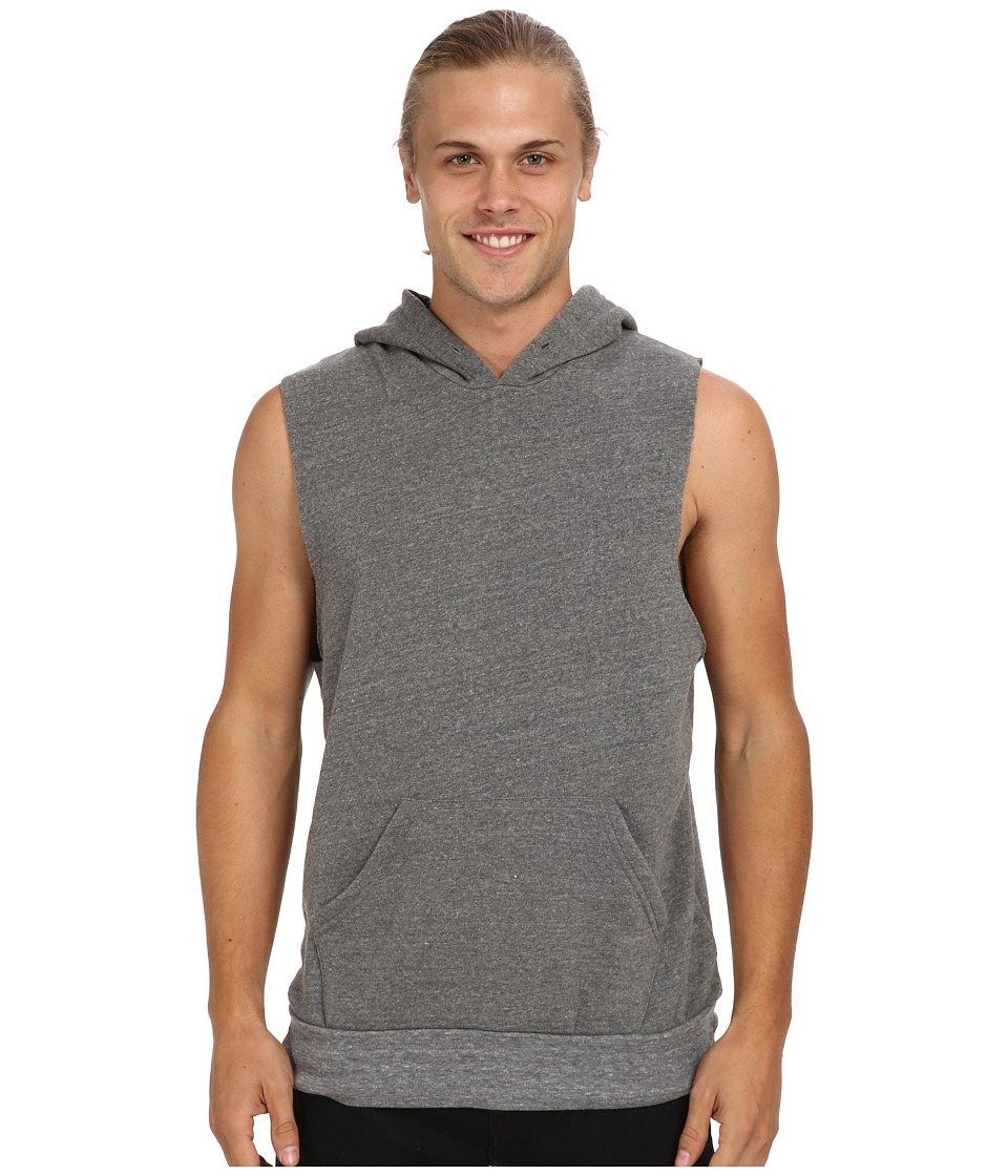 Alternative - Sleeveless Hoodlum (Eco Grey) Men's Sleeveless