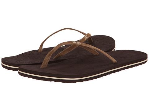 Vans - Malta LUX (Dachshund/Espresso) Women's Sandals