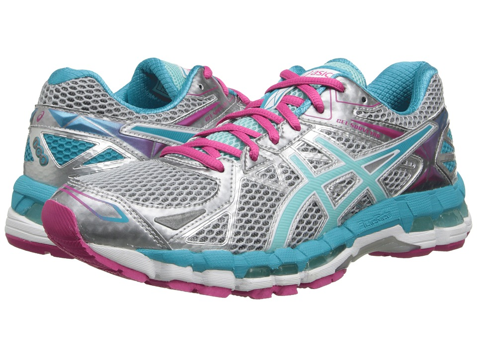 ASICS Gel-Surveyor 3 (Lightning/Ice Blue/Hot Pink) Women