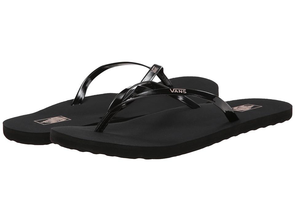 Vans - Malta (Black/Seashell Pink) Women's Sandals