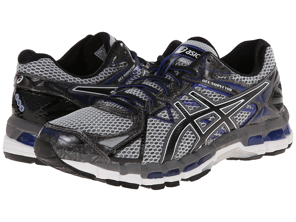 ASICS - Gel-Surveyor 3 (Stone/Black/Blue) Men's Running Shoes