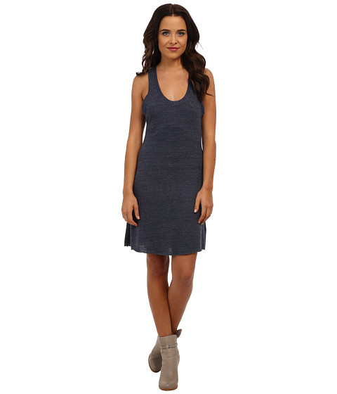 Alternative - Eco Jersey Racer Mini Dress (Eco True Navy) Women's Dress