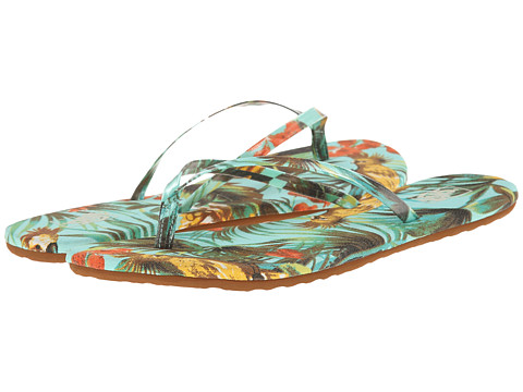 Vans - Carmelle Print ((Tropical Parrot) Beach Glass) Women's Sandals