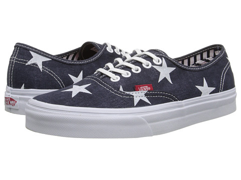 Vans - Authentic ((Stars & Stripes) True White) Skate Shoes