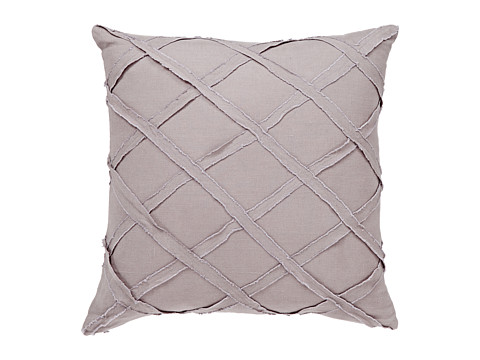 Harbor House - Linen Square Pillow - Grey (Grey) Sheets Bedding