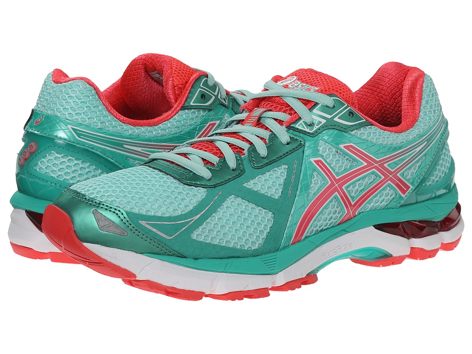 ASICS - GT-2000 3 (Beach Glass/Diva Pink/Mint) Women
