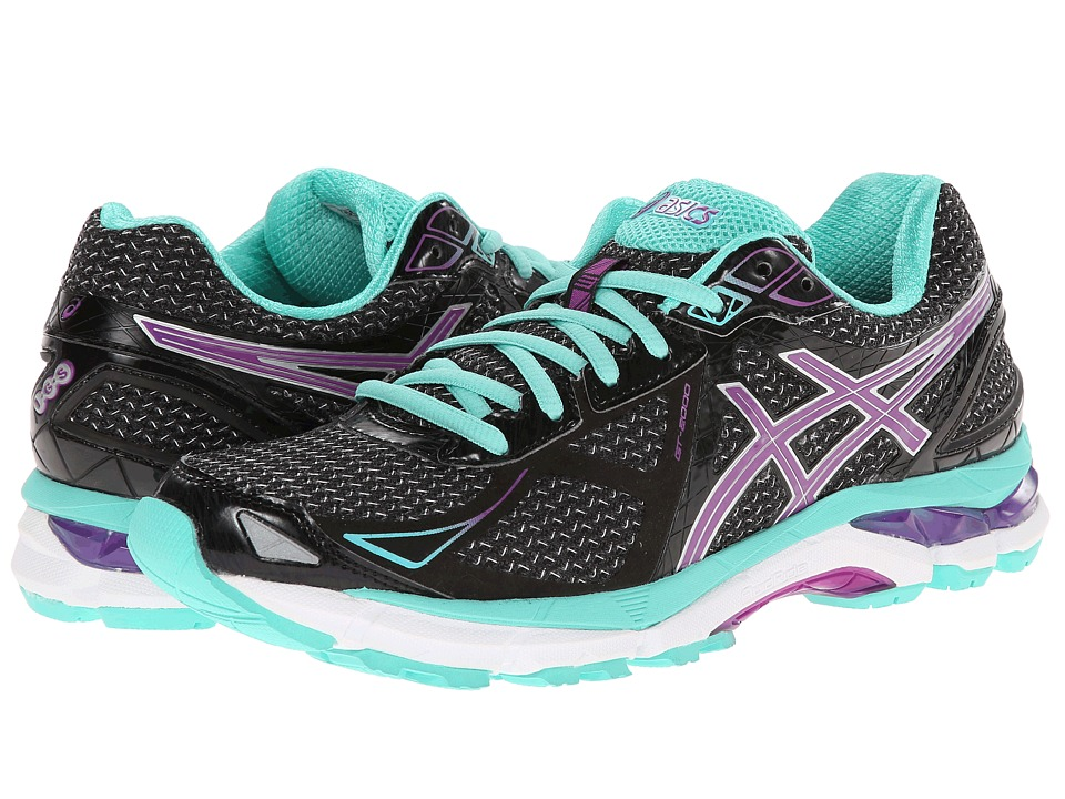 ASICS - GT-2000 3 (Black/Purple/Emerald) Women