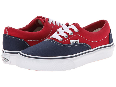 Vans Kids - Era (Little Kid/Big Kid) ((2 Tone) Dress Blues/Chili Pepper) Boys Shoes