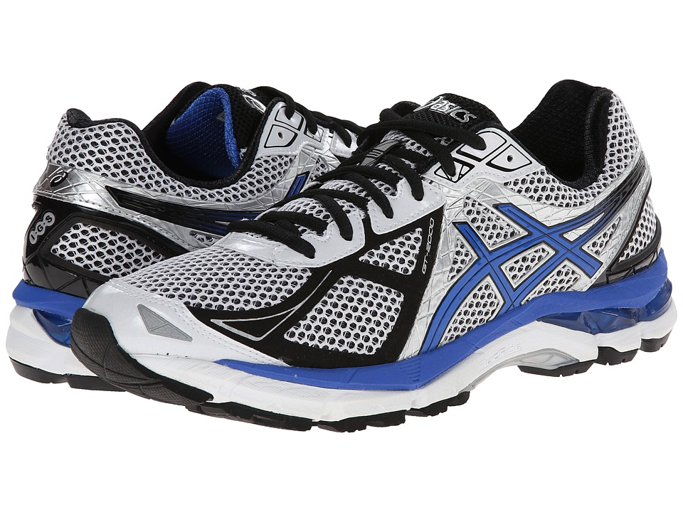 ASICS - GT-2000 3 (White/Royal/Black) Men
