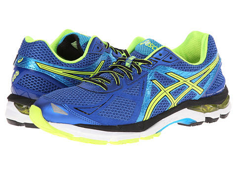 ASICS - GT-2000 3 (Blue/Flash Yellow/Atomic Blue) Men's Running Shoes