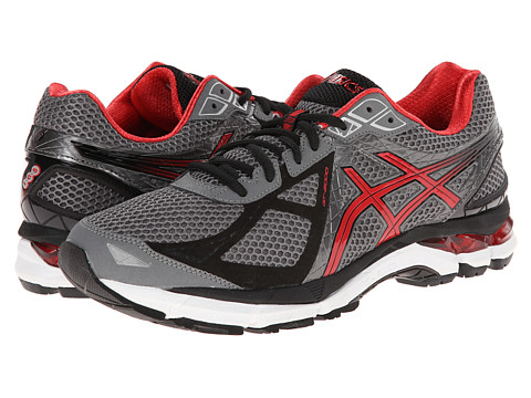 ASICS - GT-2000 3 (Carbon/Red Pepper/Black) Men