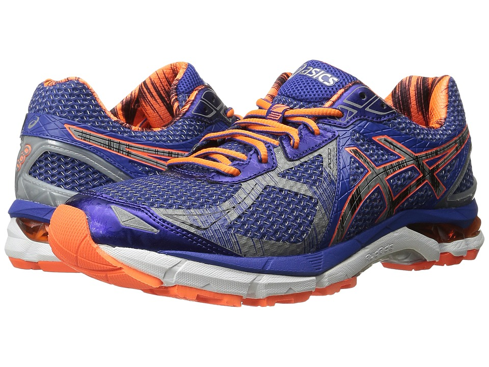 ASICS - GT-2000 3 Lite-Show (True Blue/Lite/Shocking Orange) Men's Running Shoes