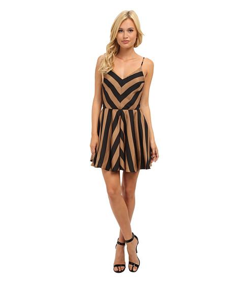 Amanda Uprichard - Haley Dress (Chestnut Stripe) Women