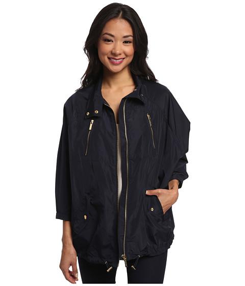 MICHAEL Michael Kors - Nylon Dolman Anorak (New Navy) Women's Coat