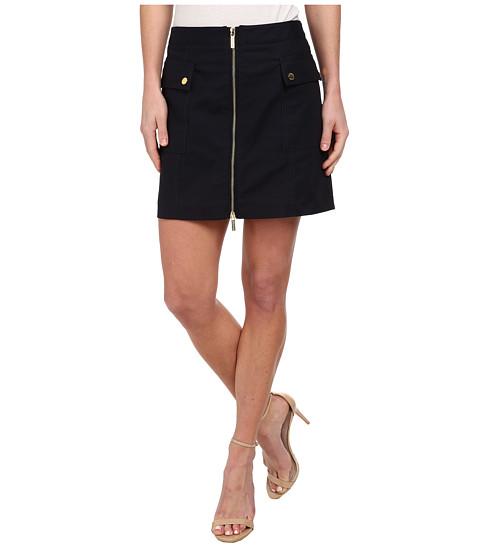 MICHAEL Michael Kors - Cargo Zip Mini Skirt (New Navy) Women's Skirt