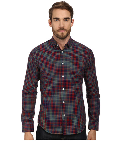 Descendant Of Thieves - Multi Traffic Plaid (Navy/Red) Men