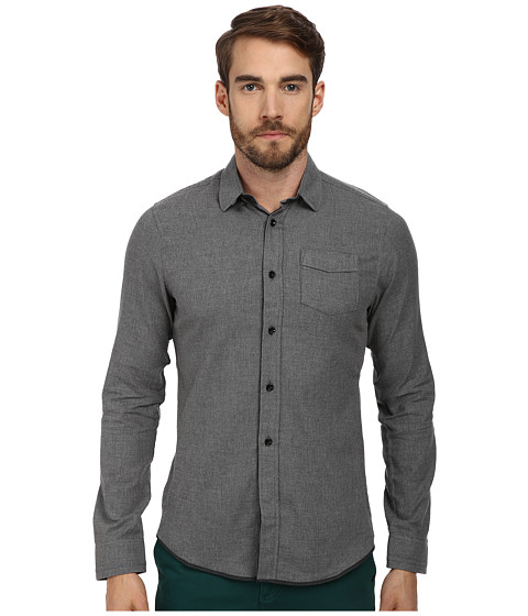 Descendant Of Thieves - Heathered Welch Flannel (Mid Grey Heather) Men