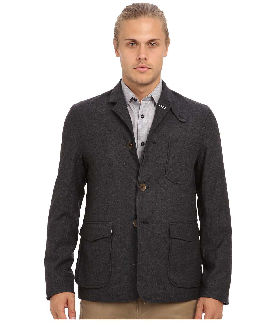 Descendant Of Thieves - Field Jacket (Dark Charcoal Slub) Men's Jacket