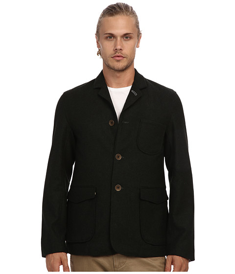 Descendant Of Thieves - Field Jacket (Forest Green Heather) Men's Jacket