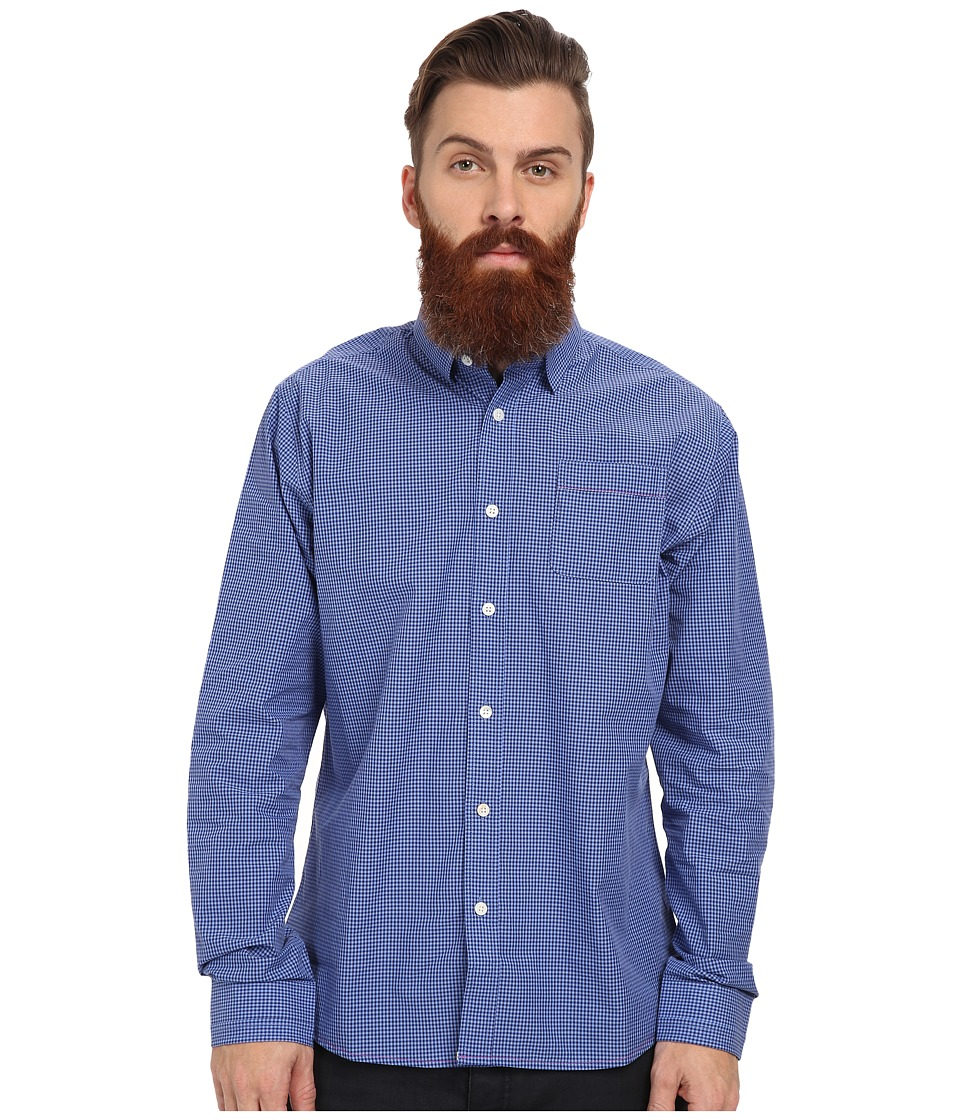 Descendant Of Thieves - Out Of The Blues Gingham (Blue On Blue) Men's Clothing
