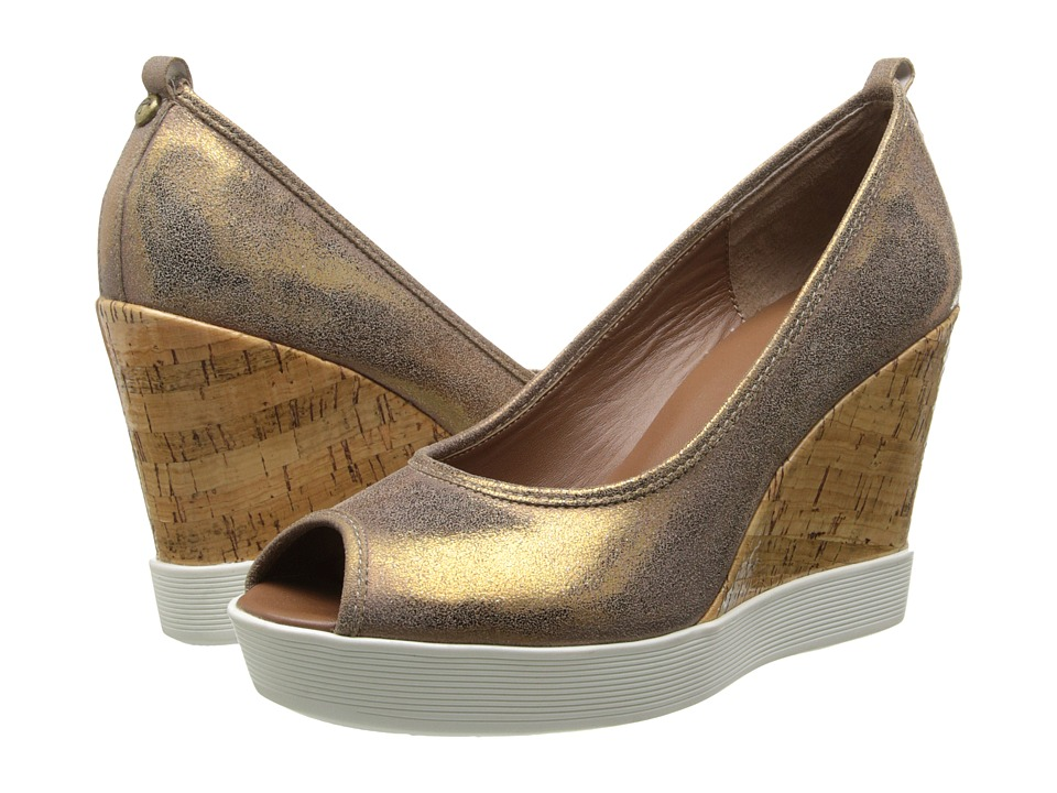 Donald J Pliner - Carli (Golden Bronze) Women's Wedge Shoes