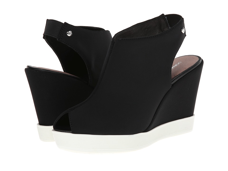 Donald J Pliner - Calypso (Black Crepe) Women's Wedge Shoes