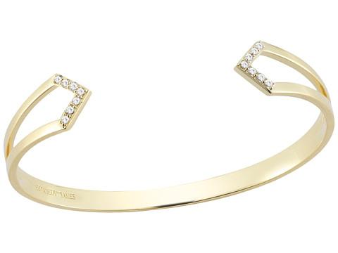 Elizabeth and James - Kuril Bangle (White Topaz) Bracelet