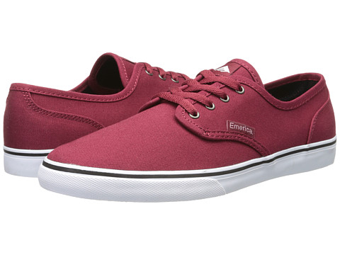Emerica - Wino Cruiser (Burgundy) Men's Skate Shoes