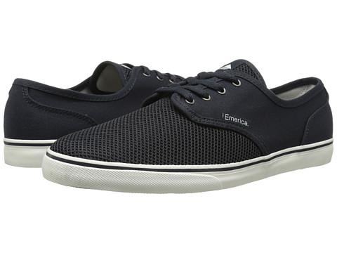 Emerica - Wino Cruiser (Blue/White) Men's Skate Shoes