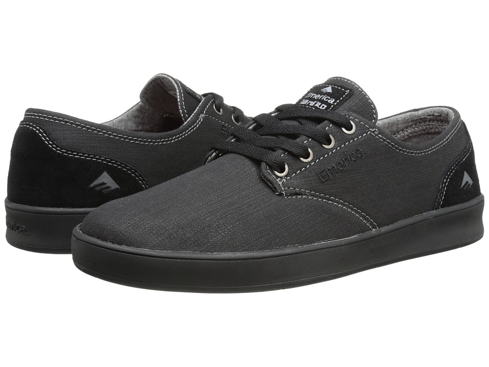 Emerica - The Romero Laced (Black/Black/Gum) Men's Skate Shoes