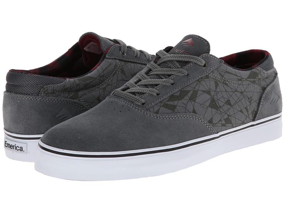 Emerica - The Provost (Dark Grey) Men's Skate Shoes