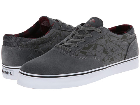 Emerica - The Provost (Dark Grey) Men's Skate Shoes