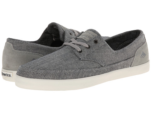 Emerica - The Romero Troubadour Low (Grey/White) Men