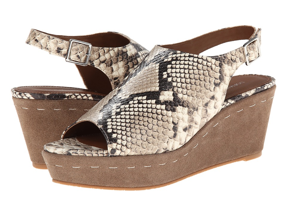 Donald J Pliner - Fleur (Taupe Multi) Women's Wedge Shoes