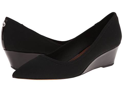 Donald J Pliner - Heidy (Black Stretch Mesh) Women's Wedge Shoes