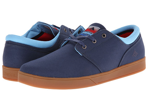 Emerica - The Figueroa (Blue) Men's Skate Shoes