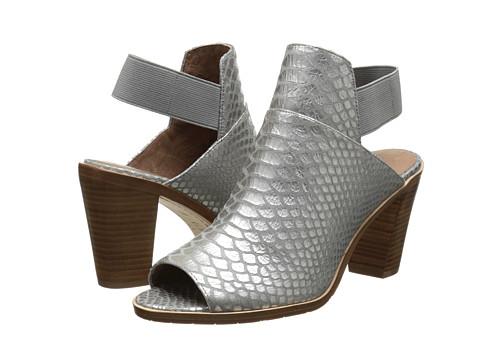 Donald J Pliner - Khloe (Silver Metallic Snake Print) High Heels