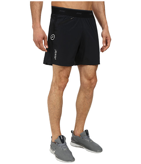 Zoot Sports - Run PCH 6 Short (Black/Black) Men's Shorts