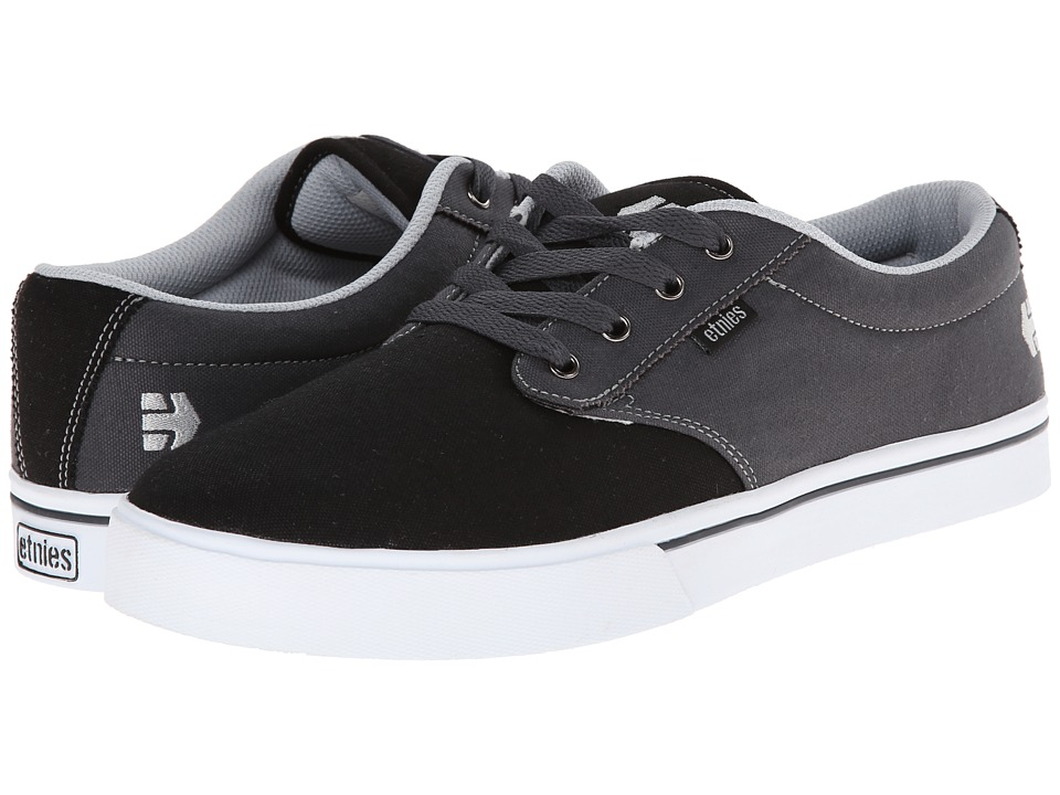 etnies - Jameson 2 Eco (Black/Dark Grey/Grey) Men